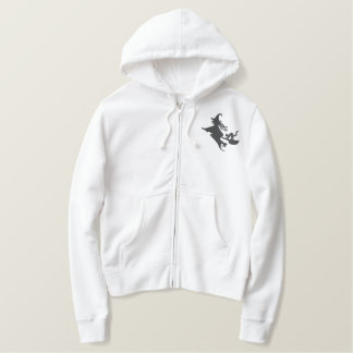 Witching Hour Embroidered Hoodie