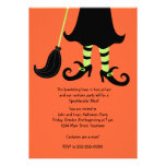Witching Hour Halloween Party Invitation