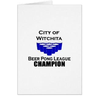 Witchita Beer Pong Champion Cards