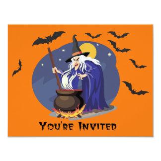 Witch's brew Halloween Invite