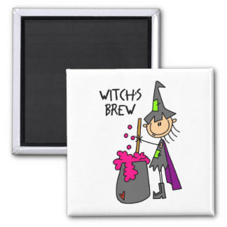 Witch's Brew Halloween Magnet