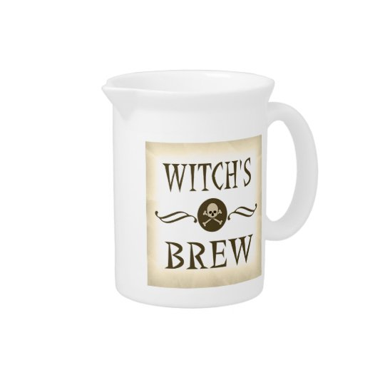 Witch's Brew Halloween Props Haunted House Pitcher