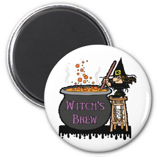 Witch's Brew Magnet Magnets