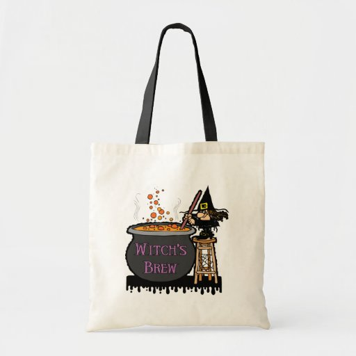 Witch's Brew Trick Or Treat Bag Bag