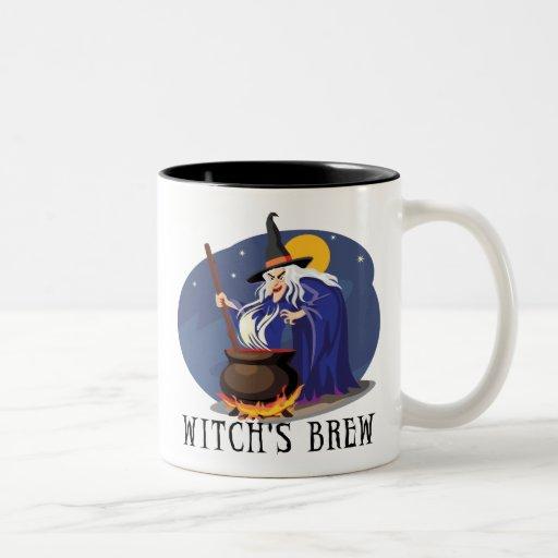 Witch's Brew Two-Tone Mug Coffee Mugs
