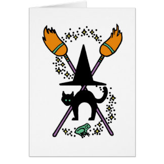 Witch's Coat of Arms Card