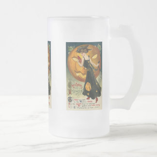 Witch's Dance Vintage Halloween Card Mug