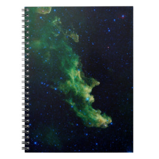 Witch's Head Nebula Spiral Notebook
