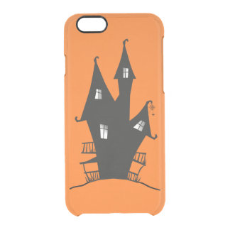 Witch's House Pumpkin Orange Clear iPhone 6/6S Case