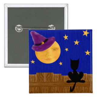Witch's Moon Square Button