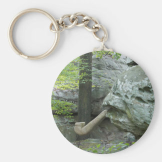 Witch's Rock Basic Round Button Key Ring