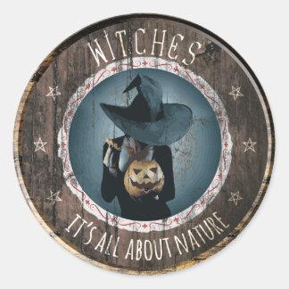 Witch's Seal - Supernatural Sticker