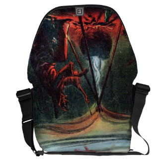 Witch's Whirl Waltzes Messenger Bags