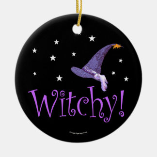 Witchy Christmas Ornament