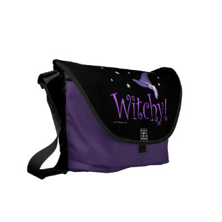 Witchy Courier Bags