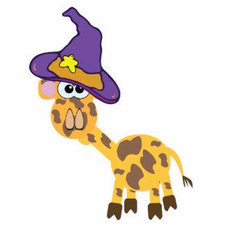 witchy goofkins giraffe standing photo sculpture