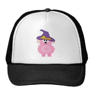 witchy goofkins pink lamb trucker hat
