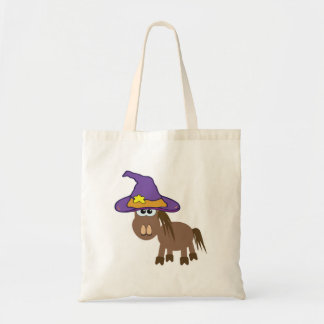 witchy goofkins pony horse budget tote bag