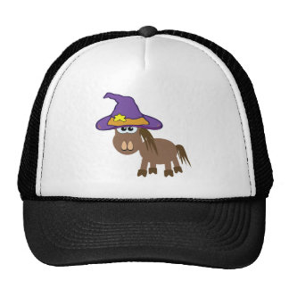 witchy goofkins pony horse mesh hat