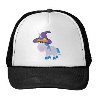 witchy goofkins unicorn mesh hats