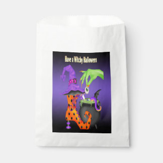 Witchy Halloween Favor Bag Favour Bags