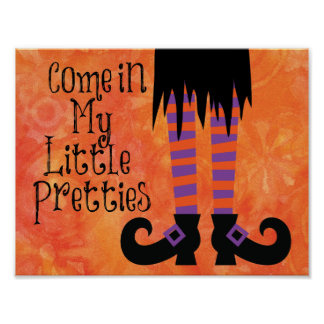 Witchy Halloween Print