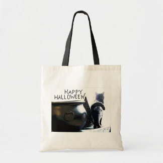 Witchy Kitty Halloween Bag