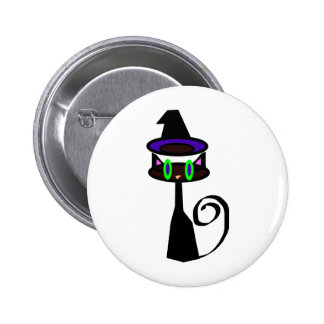 Witchy little cat pins