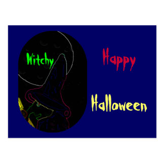 Witchy Post Card