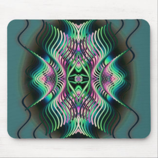 witchy rainbow mouse pad