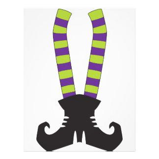 Witchy Stripy Socks Custom Flyer