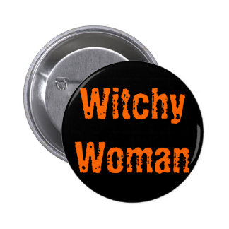 Witchy Woman Pin