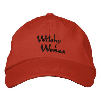 Witchy Woman Halloween Embroidered Cap