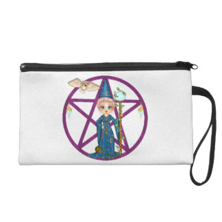 Witchy Woman Penctacle Pixel Art Wristlets