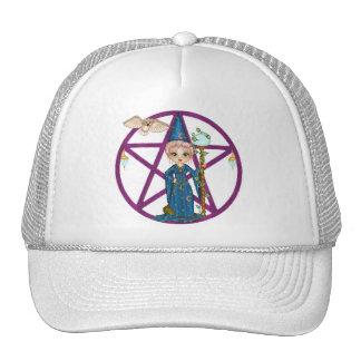 Witchy Woman Penctacle Pixel Art Cap