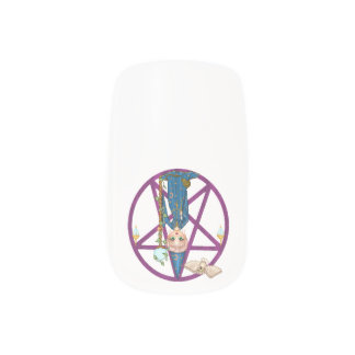 Witchy Woman Pentacle Nail Wrap