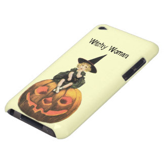 Witchy Woman Vintage Halloween iPod Case-Mate Case