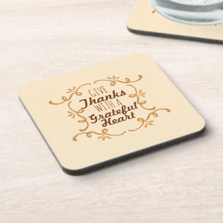 With A Grateful Heart Thanksgiving | Coaster
