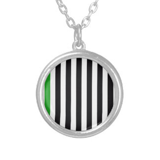 With A Green Stripe Pendant