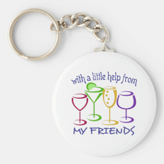 With A Little Help From My Friends Key Ring