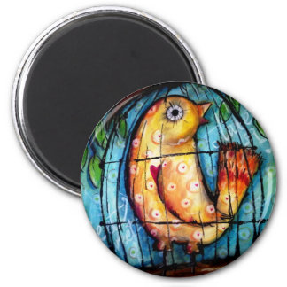 With A Song In My Heart Fridge Magnet