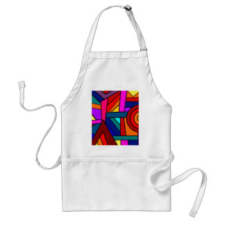 WITH A WINK AND A SMILE pattern design Apron