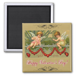 With All Affection Square Magnet