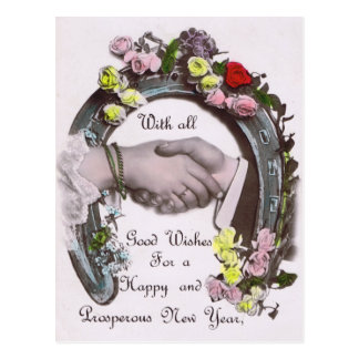 With All Good Wishes Post Cards