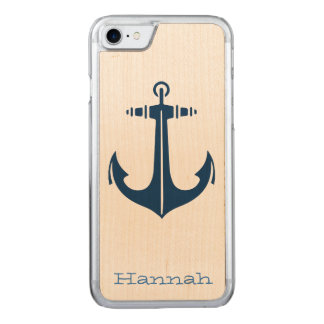 with Anchor Carved iPhone 8/7 Case