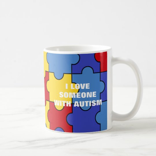 With Autism (customisable) Coffee Mug