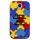 With Autism (customisable) Galaxy S4 Case