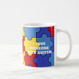With Autism (customizable) Coffee Mug