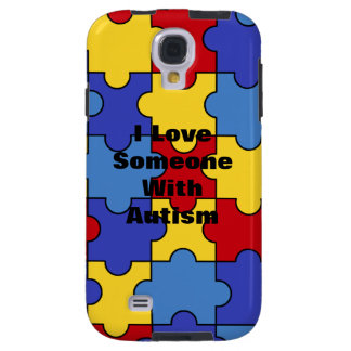 With Autism (customizable) Galaxy S4 Case