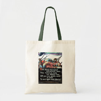 With Blood And Sweat Tote Bag